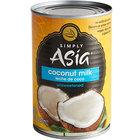 Simply Asia 13.66 oz. Unsweetened Coconut Milk - 24/Case