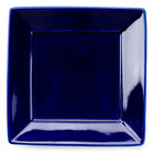 Tuxton BCH-0845 8 1/2 inch Cobalt Blue Square China Plate - 12/Case