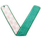 Rubbermaid FGQ44800GR00 HYGEN 48 inch Green Microfiber Dust Mop Pad