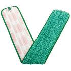 Rubbermaid FGQ43600GR00 HYGEN 36 inch Green Microfiber Dust Mop Pad