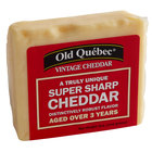 Old Quebec 5 oz. Vintage Cheddar 3 Years Aged Super Sharp Cheddar Cheese - 12/Case