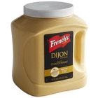 French's 105 oz. Dijon Mustard Jug - 2/Case