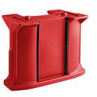Cambro C10011158 Red Versa Bar / Table Leg Kit with (1) Standard Height Leg / (2) Decor Panel Rails