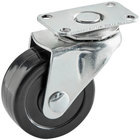 Regency 1 7/8 inch Swivel Plate Caster with Mounting Hardware for Keg Dollies