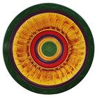 Elite Global Solutions V171 Cantina 17 inch Multi-Color Round Melamine Platter