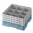 Cambro Full Size 9 Compartment Glass Racks, 11 3/4