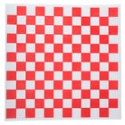 Choice 12 inch x 12 inch Red Check Deli Sandwich Wrap Paper - 5000/Case