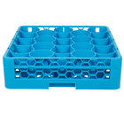 Carlisle RW2014 OptiClean NeWave 20 Compartment Glass Rack with 1 Extender