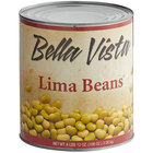 Bella Vista #10 Can Lima Beans   - 6/Case