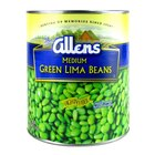 Medium Green Lima Beans 6 - #10 Cans / Case