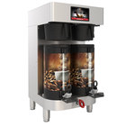 Grindmaster PBC-2V (1004-006) PrecisionBrew 1.5 Gallon Twin Automatic Shuttle Coffee Brewer for Vacuum Shuttles - 240V