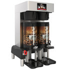 Grindmaster PBC-2VS (1004-008) PrecisionBrew 1.5 Gallon Twin Automatic Shuttle Coffee Brewer for Vacuum Shuttles with Stand - 240V