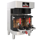 Grindmaster PBC-2A (1004-003) PrecisionBrew 1.5 Gallon Twin Automatic Shuttle Coffee Brewer for Air-Heated Shuttles - 240V