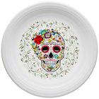 Fiesta Tableware from Steelite International HL46741823 Skull and Vine Sugar 11 3/4 inch Plate - 4/Case