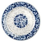 Thunder Group 1015DL Blue Dragon 14 3/8 inch Round Melamine Plate - 12/Pack