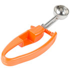 Zeroll 2100 Orange #100 .32 oz. Universal EZ Disher Portion Scoop