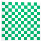 Choice 12 inch x 12 inch Green Check Deli Sandwich Wrap Paper - 1000/Pack