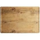 GET SB-1812-OW Madison Avenue / Granville 18 inch x 12 inch Melamine Faux Oak Wood Display Board