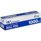Choice 15 inch x 1000' Food Service Standard Aluminum Foil Roll