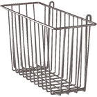 Metro H210-DCH Copper Hammertone Storage Basket for Wire Shelving 17 3/8 inch x 7 1/2 inch x 5 inch