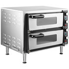Waring WPO350 Countertop Double Pizza / Snack Oven - 240V, 3500W
