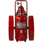 Buckeye 300 lb. Purple K Fire Extinguisher - Rechargeable Untagged Regulated Pressure - UL Rating 320-B:C - Steel Wheels