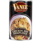Vanee 450RV 50 oz. Can Dumplings with Chicken - 12/Case