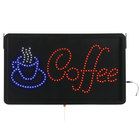 Aarco COF03L Coffee LED Sign