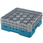 Cambro Full Size 20 Compartment Glass Racks, 8 1/2