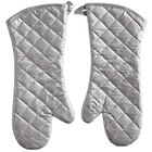 Choice 15 inch Silicone-Coated Oven / Freezer Mitts