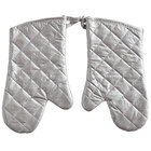 Choice 13 inch Silicone-Coated Oven / Freezer Mitts