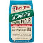 Bob's Red Mill 5 lb. Organic Unbleached All-Purpose Flour - 4/Case
