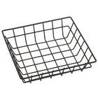 American Metalcraft SQGS8 8 inch Black Square Wire Basket