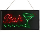 Choice 19 inch x 10 inch LED Rectangular Cocktail Bar Sign with Two Display Modes
