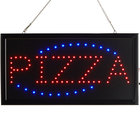 Choice 19 inch x 10 inch LED Rectangular Pizza Sign with Two Display Modes