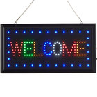 Choice 19 inch x 10 inch LED Rectangular Welcome Sign with Two Display Modes