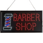 Choice 19 inch x 10 inch LED Rectangular Barber Shop Sign with Two Display Modes
