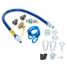 """Dormont 16100KIT36 Deluxe SnapFast® 36"""" Gas Connector Kit with Two Elbows and Restraining Cable - 1"""" Diameter"""