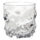 GET SW-1439-1-CL L7 9 oz. Clear SAN Plastic Rocks Glass / Tumbler - 24/Case