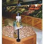 Corner Mounted Produce Bag Holder for Orchard Bins