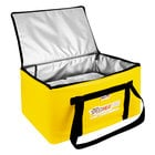 """Sterno 72038 SpeedHeat™ Yellow Leak-Proof Insulated Food Pan Carrier / Catering Delivery Bag, 16"""" x 24"""" x 14""""- Holds (6) Half Size Food Pans"""