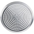 American Metalcraft CAR19SP 19 inch Super Perforated Heavy Weight Aluminum CAR Pizza Pan