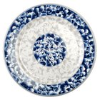 Thunder Group 1013DL Blue Dragon 12 5/8 inch Round Melamine Plate - 12/Pack