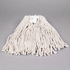 Continental A503316 16 oz. Cut End Natural Cotton Mop Head with Screw-On Band