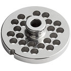 #12 Stainless Steel Hub Grinder Plate - 5/16 inch