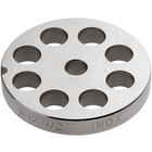 #12 Stainless Steel Flat Grinder Plate - 1/2 inch