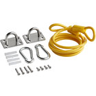 Regency Coiled 48 inch Restraining Cable for 60 inch Gas Connector
