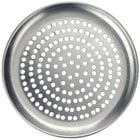American Metalcraft CTP18SP 18 inch Super Perforated Coupe Pizza Pan - Standard Weight Aluminum