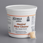 Noble Chemical QuikPacks 0.5 oz. Neutral Floor Cleaner Packs 90 Count Tub