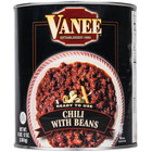Vanee 390GF #10 Can Chili with Beans - 6/Case